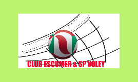 Copy of EL CLUB ESCUMER SP VOLEY