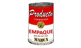 Copy of Producto, Empaque, Marca