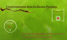 L'environnement dans les Pyrénées.