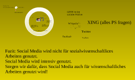 GESIS 2.0 - Welcome to the social media!