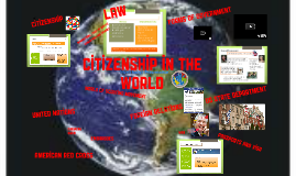 2018 Citizenship of the World Presentation