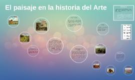 Copy of El paisaje en la historia del Arte