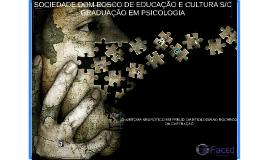 SOCIEDADE DOM BOSCO DE EDUCAÇÃO E CULTURA S/C GRADUAÇÃO EM P
