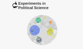 Experiments in Political Science