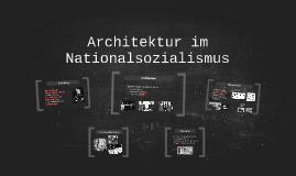 Architektur im Nationalsozialismus