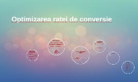 Optimizarea ratei de conversie