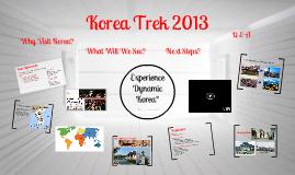 Copy of South Korea Trek 2013