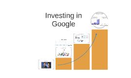 Investing in Google