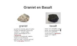 Graniet en Basalt