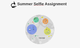 AP Bio summer selfie assignment