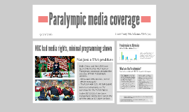 Paralympic media coverage in the USA