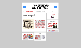 LOS PUPITRES