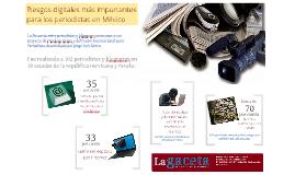 Riesgos digitales a periodistas