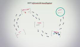 MET információk összefüggései