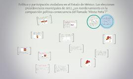Política y participación ciudadana en el Estado de México. L