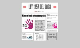 LEY 1257 DEL 2008