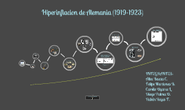 Copy of HIPERINFLACIÓN ALEMANA