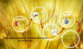 Copy of Metas Organizacionales y Responsabilidad Social de una Empre