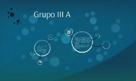 Grupo III A