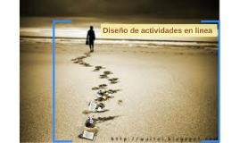 Copy of Diseño de actividades