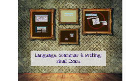 LGW Final Exam Information 2016