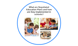 Negotiated Education Plan