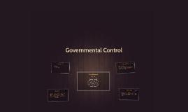 Governmental Control