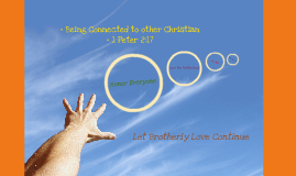 Being Connected to other Christian