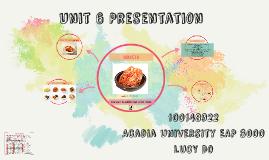 Unit 6 Presentation
