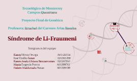 Copy of Sindrome de Li-Fraumeni