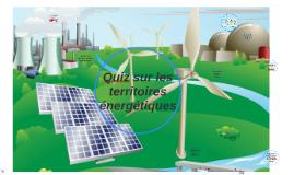 Quiz sur les territoires énergétiques