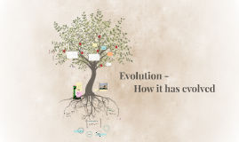 Evolution - How it has evolved
