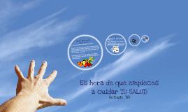 campaña por una buena salud