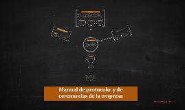 Copy of Manual de protocolo empresarial