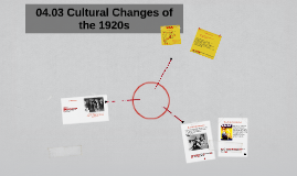 04.03 Cultural Changes of the 1920s