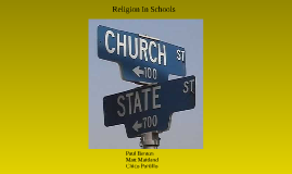Religion In Schools: Chapter 7