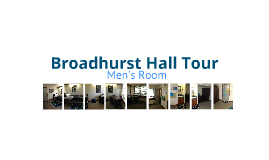 Broadhurst Men's Room