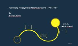 Copy of Marketing Management Pesentation on SAFEGUARD