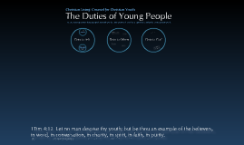 Duties of Young People