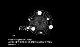 Emotion Regulation Group 1