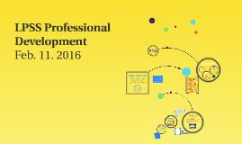 LPSS Professional Development