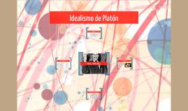 Idealismo de Platón