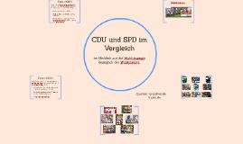 CDU und SPD im Vergleich