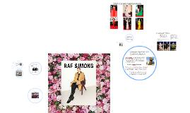 Who is Raf Simons?