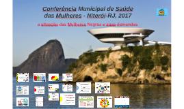 Conferência Municipal de Saúde das Mulheres - Niterói-RJ, 20