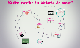 ¿Quién escribe tu historia de amor?