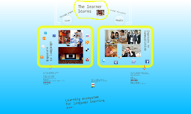Learning ecosystem for language learning