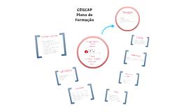 Plano de Formação Trimestral - CEISCAP