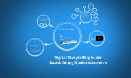 Copy of Digital Storytelling in der Basisbildung Niederösterreich