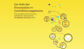 Copy of Die Rolle der  Printmedien im Gentrifizierungsprozess